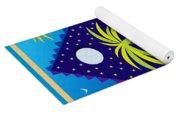 Summer Serenity Yoga Mat