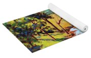 Summer Shadows Yoga Mat