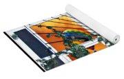 Sun And Hot Air Yoga Mat