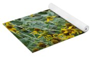 Sun Flowers Yoga Mat
