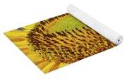 Sunflower Art Prints Honey Bee Sun Flower Floral Garden Yoga Mat