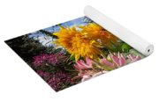 Sunflower Day Yoga Mat