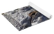 Sunning Alligator 2 Yoga Mat