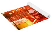 Sunset Tractor Pull Yoga Mat