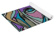 Super Hero - Contemporary Dog Art Yoga Mat