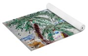 Surf And Palms Yoga Mat