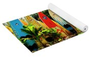 Surfboard Fence II-the Amazing Race Yoga Mat
