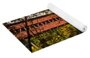 Swift River Covered Bridge In Conway New Hampshire Yoga Mat