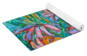 Swirling Color Yoga Mat