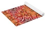 Swirls Abstract Yoga Mat