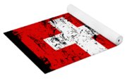 Switzerland Gift Country Flag Patriotic Travel Shirt Europe Light Yoga Mat