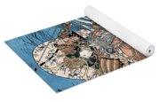 Taira Atsumori (1169-1184) Yoga Mat