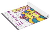 Tarot Of The Younger Self The Emperor Yoga Mat