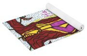 Tarot Of The Younger Self The Hanged Man Yoga Mat