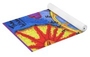Tarot Of The Younger Self The Wheel Yoga Mat
