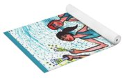 Tarot Of The Younger Self Three Of Cups Yoga Mat