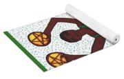 Tarot Of The Younger Self Two Of Pentacles Yoga Mat