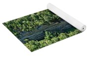 Tennessee River Gorge And Waterfall Panorama Yoga Mat