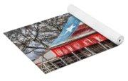 Texas Flag Barn #6 Yoga Mat