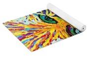 Texture Abstract  Yoga Mat