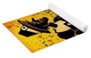 Thanksgiving Pilgrim Yoga Mat