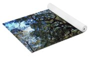 The Angel Oak In Spring Yoga Mat