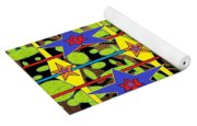 The Arts Of Textile Designs #28 Yoga Mat