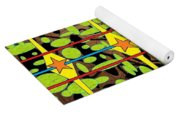 The Arts Of Textile Designs #3 Yoga Mat