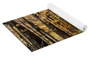 The Back Road In Autumn Yoga Mat