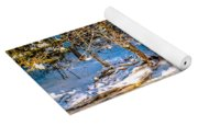 The Basin At Franconia Notch Yoga Mat