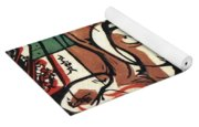 The Birth Of The Horse 1913 Yoga Mat