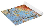 The Colors Of Autumn Yoga Mat