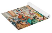 The Coronation Of Esther Yoga Mat