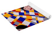 The De Stijl Dolls Yoga Mat