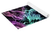 The Duel Of The Dragons  Yoga Mat