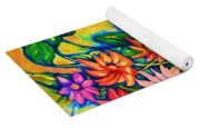 The Flower Dance Yoga Mat