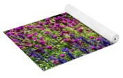 The Flowers And The Bees Yoga Mat