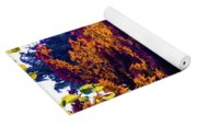 The Forest At Dusk Yoga Mat