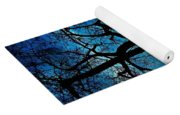 The Ghostly Tree Yoga Mat