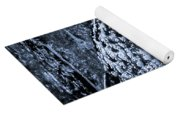 Majestic Great Horned Owl Bw Yoga Mat