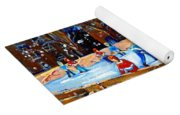 The Hockey Rink Yoga Mat