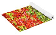 The Joys Of Autumn Camping Yoga Mat