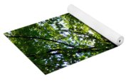The Lake In The Park Yoga Mat