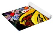 The Light Within The Flowers Yoga Mat
