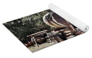 The Old Jalopy In Wine Country, California  Yoga Mat
