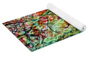 The Old Maple Tree Yoga Mat
