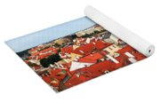 The Red Tile Roofs Of Prague Yoga Mat