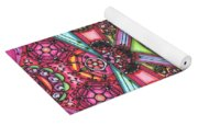Thoughts Of Pink Yoga Mat