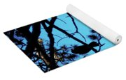 Three Crows In A Tree Yoga Mat