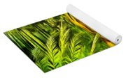 Tiger In The Forest Yoga Mat